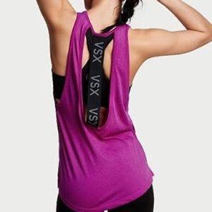 Victoria's Secret Tops - VSX Victoria's Secret sport open back top